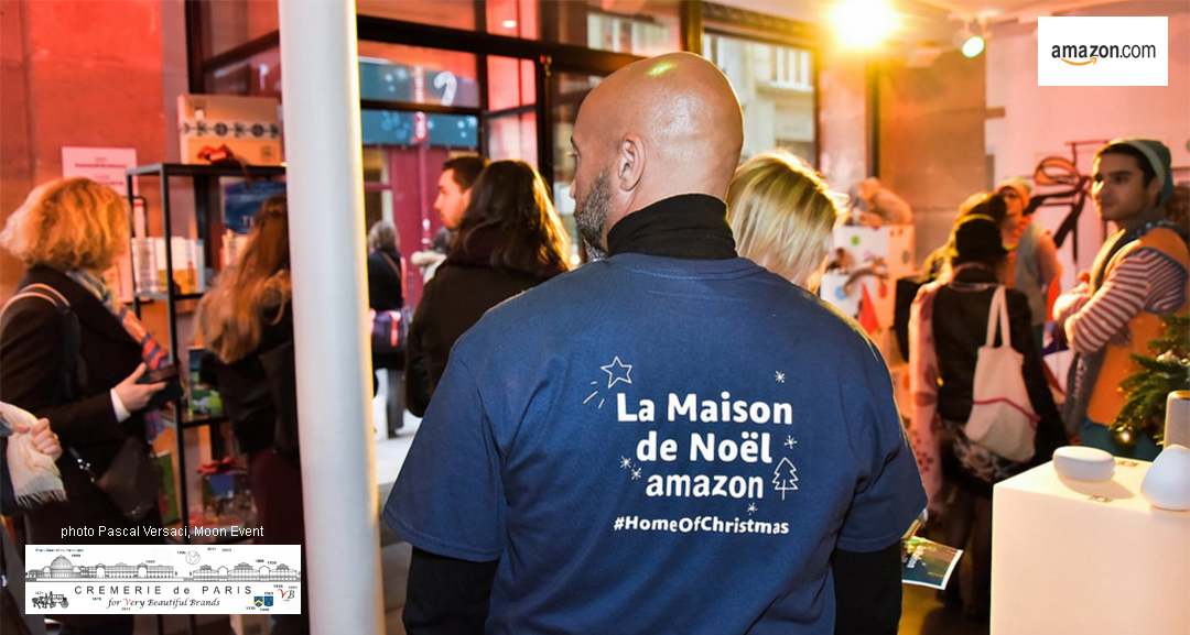 Amazon Pop Up Store Paris