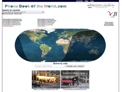 Phone Book of the World.com