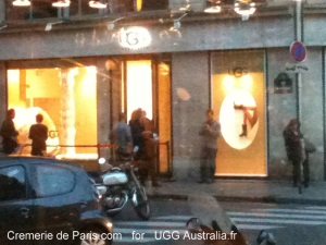 UGG Pop Up Store à la Cremerie de Paris