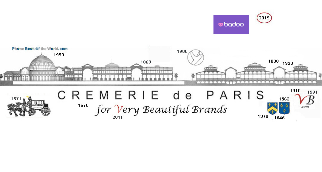 Logo Badoo / Cremerie de Paris