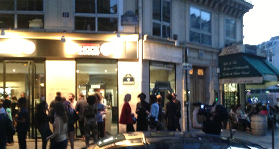 Vue sur le Casio Pop Up Store