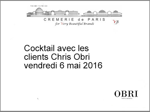 interieur du Chris Obri Pop Up Store