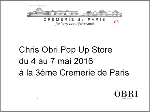 Chris Obri Pop Up Store