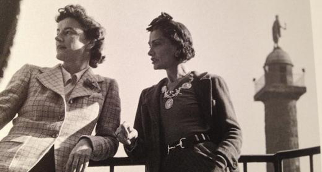 Bettina Ballard et Coco Chanel