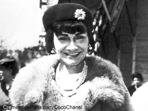 Coco Chanel in the 1960ies