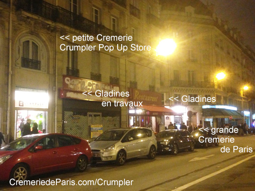 Crumpler pop up store la petite cremerie de paris - 15 rue des halles 75001 paris ...