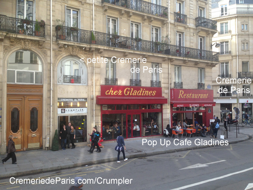 Crumpler Pop Up Store et le nouveau Restaurant Gladines
