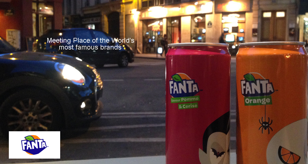 Fanta Pop Up Store