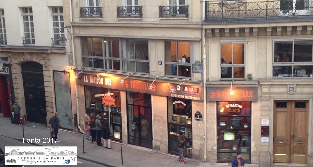 Pop Up Store Fanta at the Cremerie de Paris