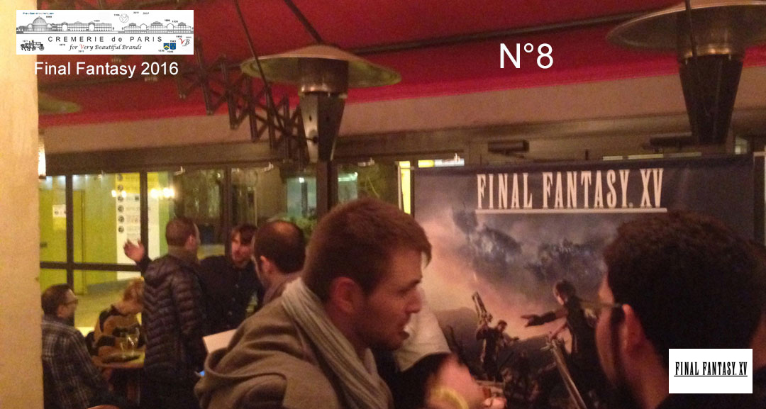 Final Fantasy  Pop Up Cafe Opening Night