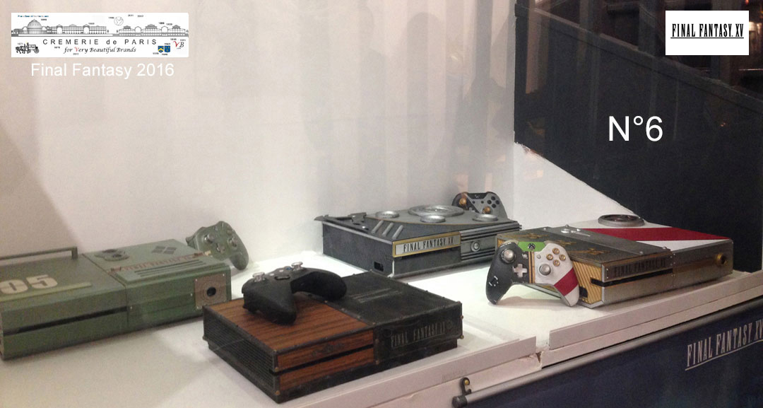 anciennes Final Fantasy custom Xbox, collector items