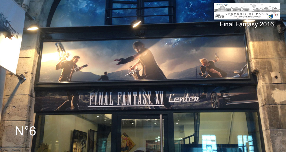 Lancement de Final Fantasy XV à la Cremerie N°6