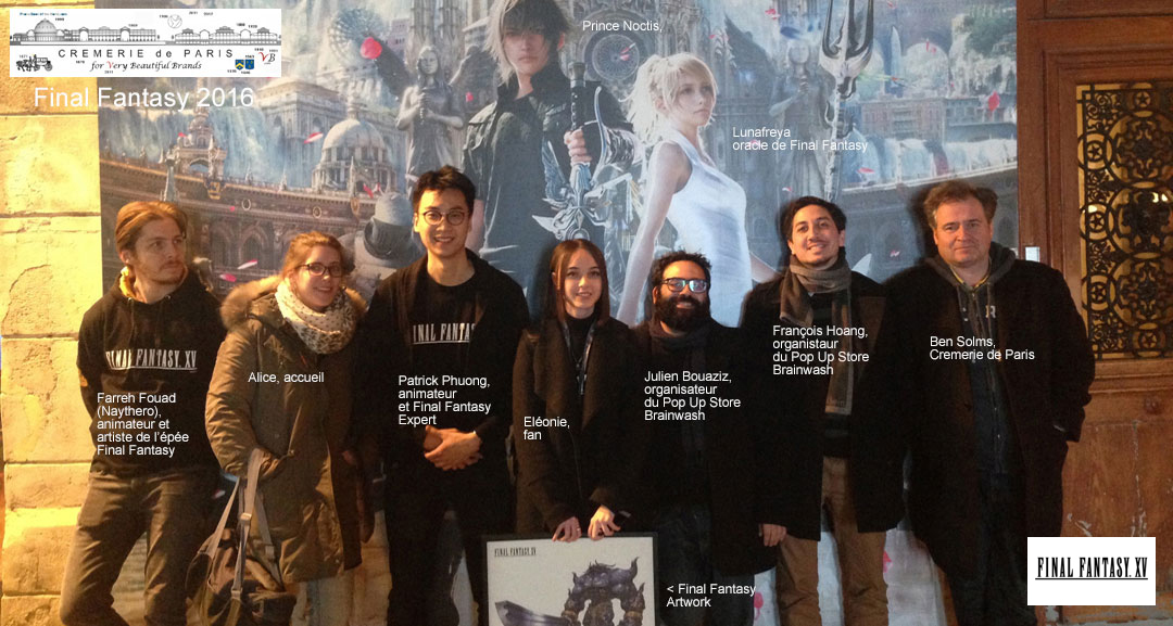 Final Fantasy  Pop Up Store Crew