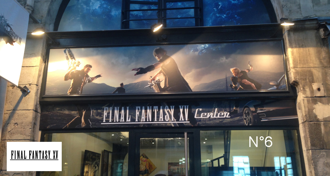 Pop Up Store Final Fantasy