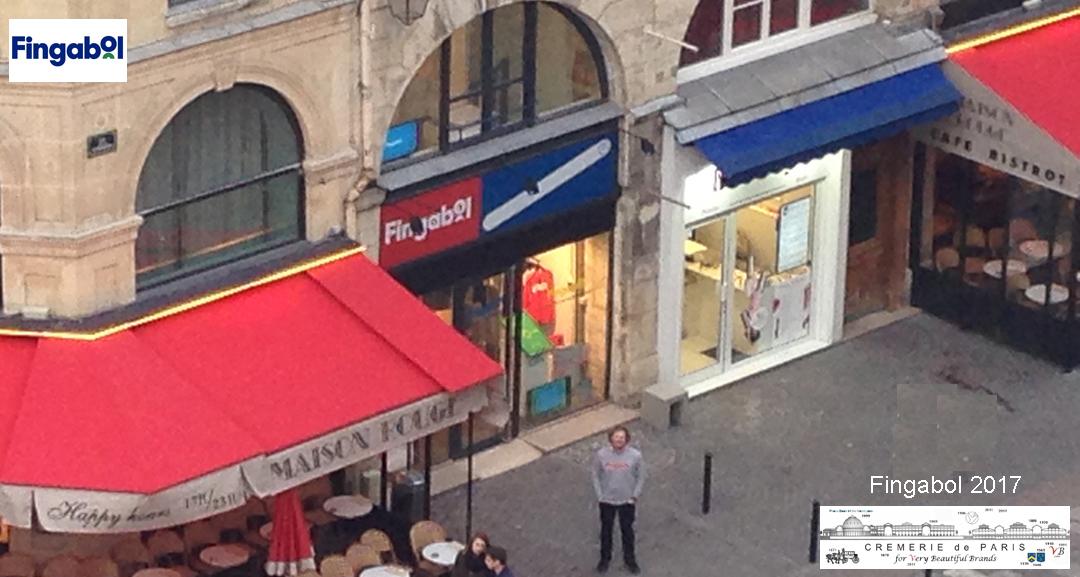 Fingabol Pop Up Store at the Cremerie de Paris