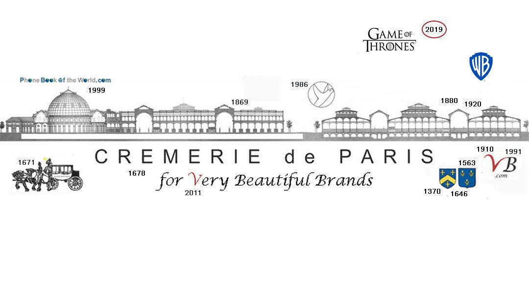 Logo Game of Thrones / Cremerie de Paris