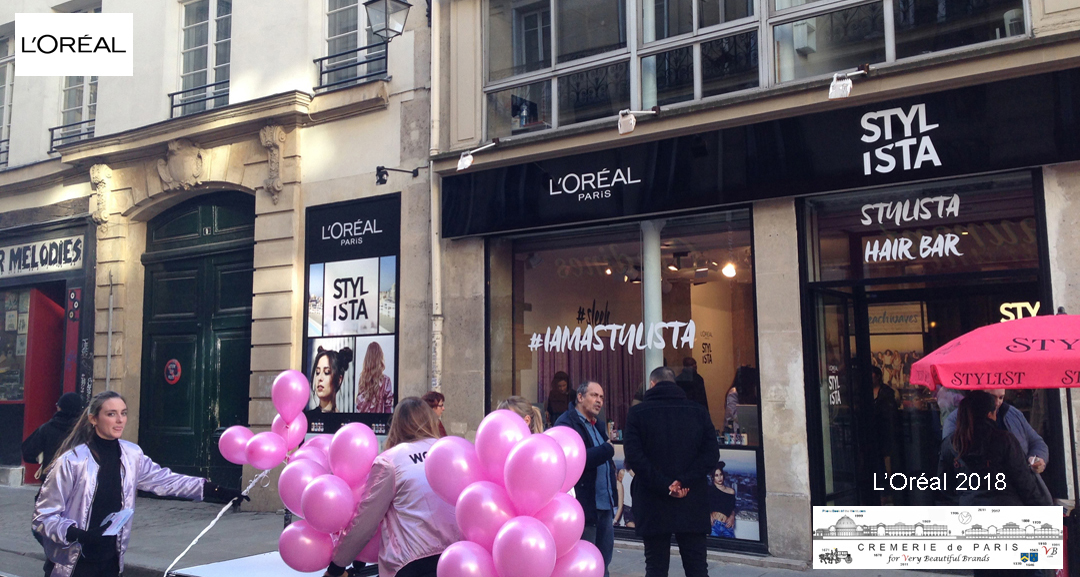L Oreal Stylista Pop Up
