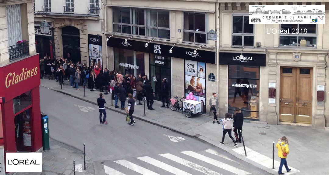 L Oreal Pop Up Store at Cremerie de Paris N°1
