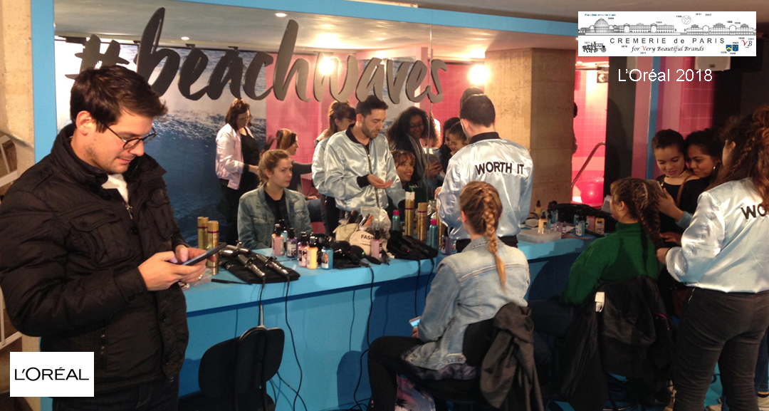 L Oreal Pop Up Store Salon de Coiffure
