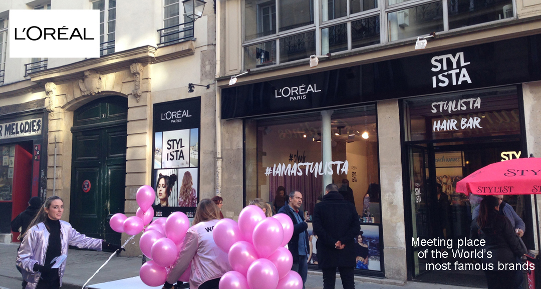 L Oreal Stylista Pop Up Store