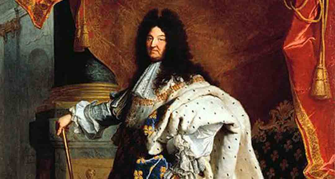 King Louis XV by Hyacinthe Rigaud around 1700