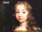 Louis XIV as a child