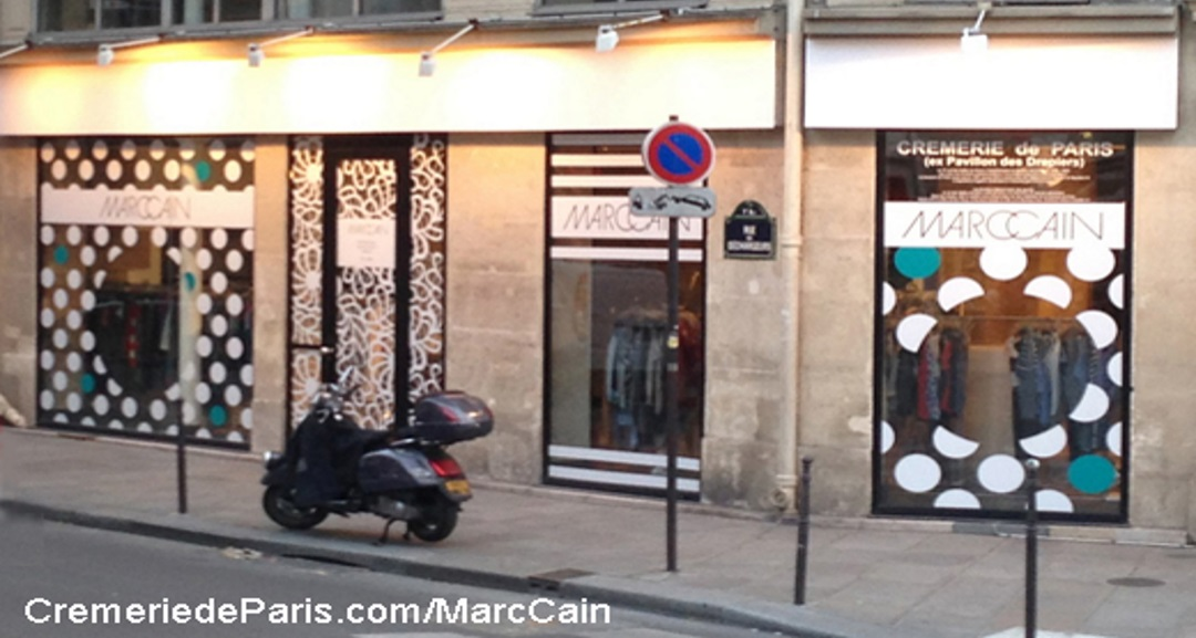 Pop Up Store Marc Cain at the Cremerie de Paris
