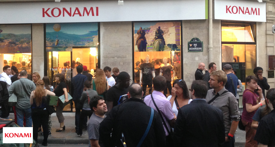 Metal Gear / Konami Pop Up Store