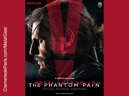 affiche Metal Gear Phanton Pain
