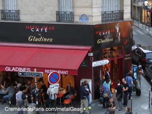 Metal Gear Cafe chez Gladines