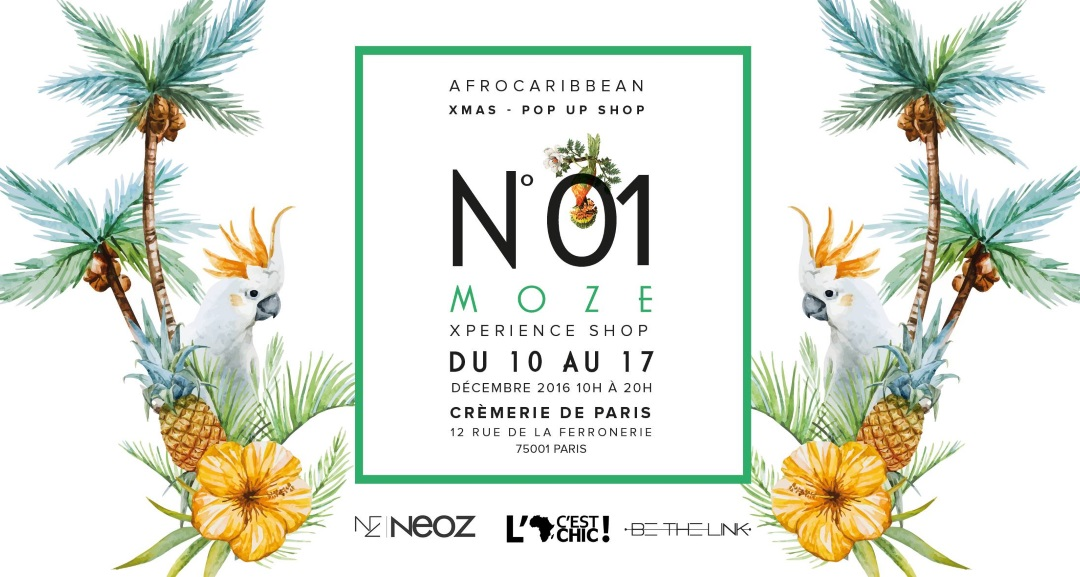 Moze Pop Up Store