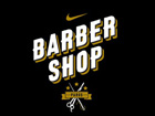 Logo Nike Barber Shop