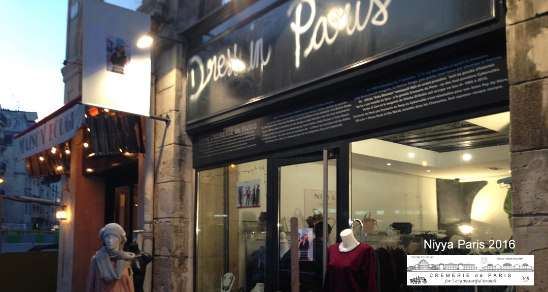 Niyya Paris Pop Up Store à la Cremerie de Paris N°6
