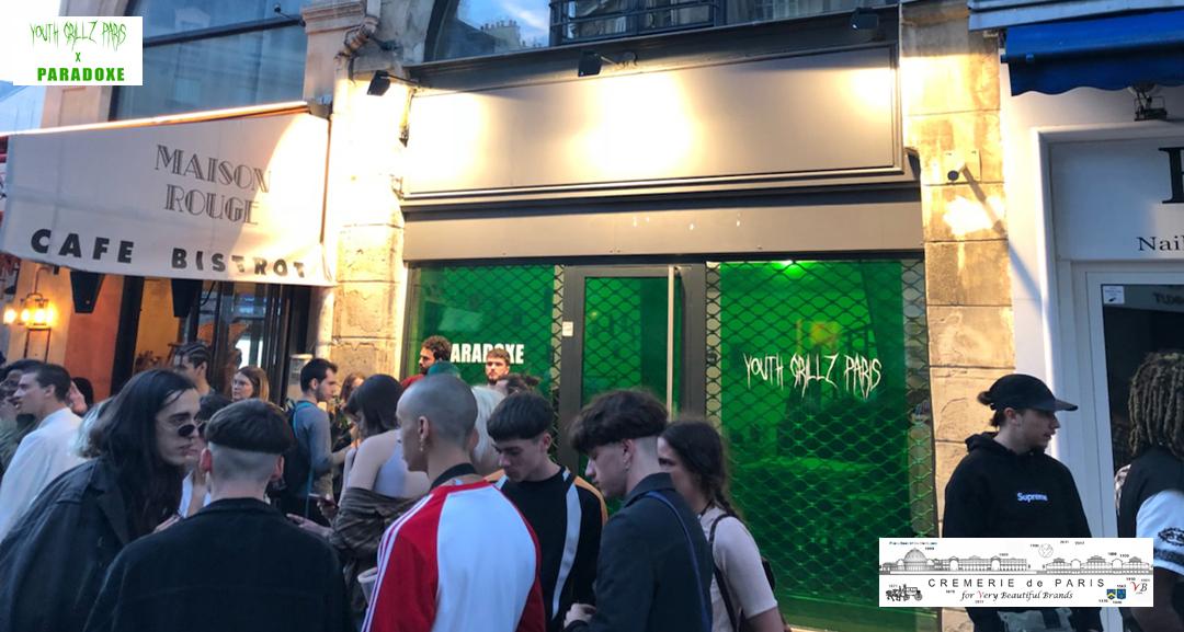 Pop Up Store Paradoxe at the Cremerie de Paris