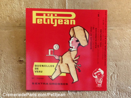 beautiful French vintage ad for Petitjean