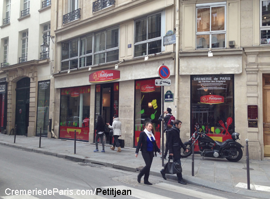 Pop Up Store Petitjean à la Cremerie de Paris
