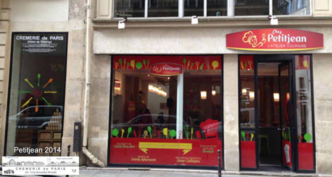 Pop Up Store Petit Jean at the Cremerie de Paris