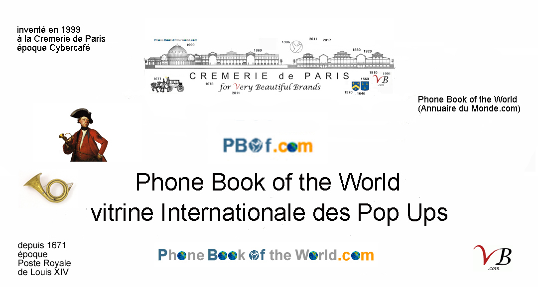 Phone Book of the World, vitrine des Cremerie de Paris