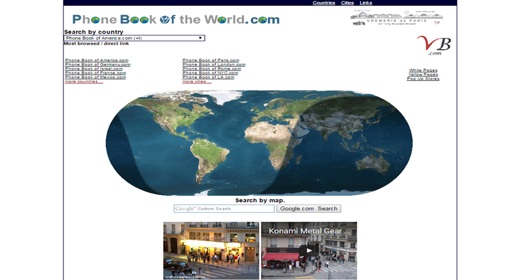 Le Phonebook of the World contribue à faire rayonner les Cremeries de Paris Pop Up Stores à travers le Monde