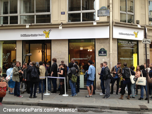 Pokemon Center Paris