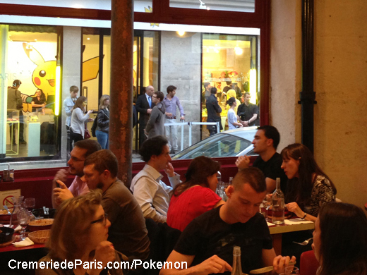 vue depuis Gladines sur le Pokemon Pop Up Store
