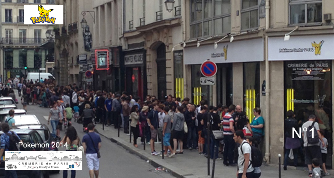 Pokemon Pop Up Store at Cremerie de Paris