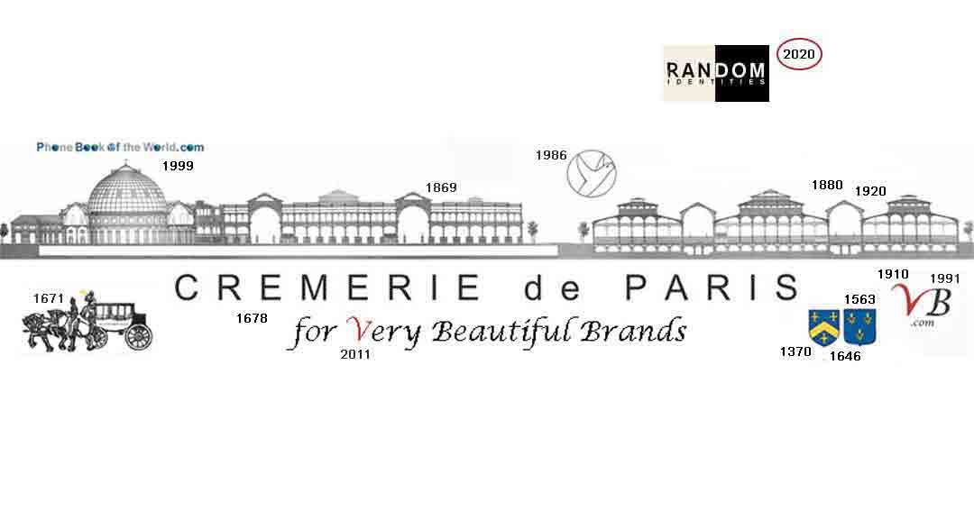 Logo Randon Identities/ Cremerie de Paris