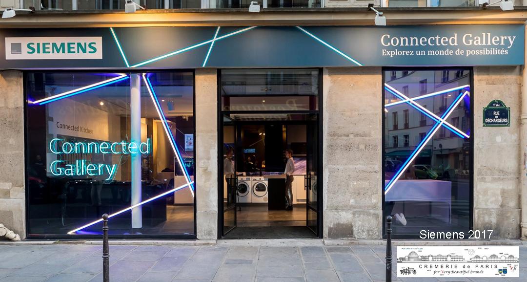 Pop Up Store Siemens at the Cremerie de Paris