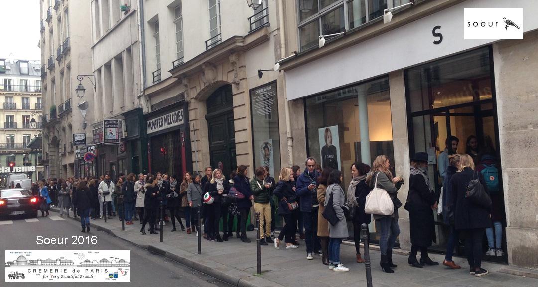 Pop Up Store Soeur at the Cremerie de Paris