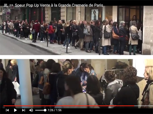file d'attente dans la Video Soeur