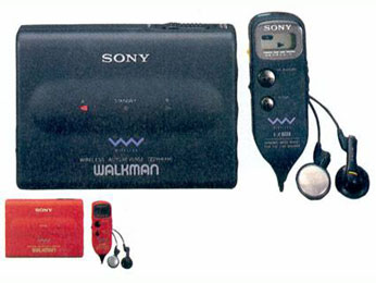 Walkman sans fil WM 805