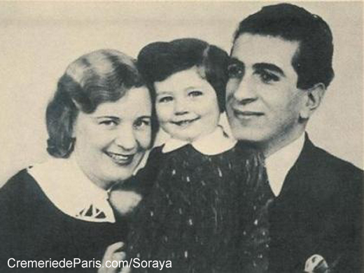Soraya as a child