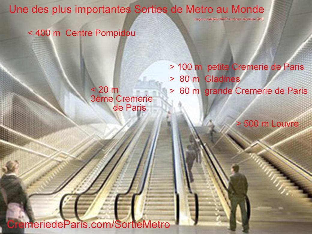 Cremerie de paris pop up store hotspot for very beautiful brands - Les halles paris ouverture ...