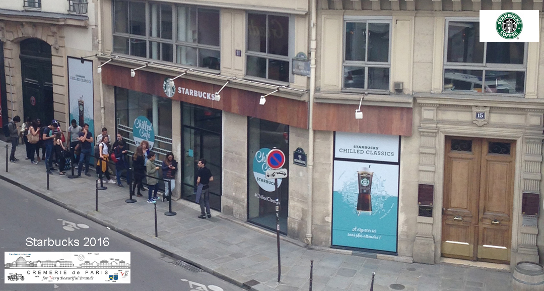Pop Up Store Starbucks at the Cremerie de Paris